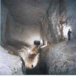 Limestone caverns beneath Hendre